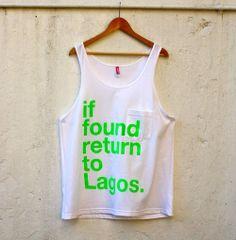 If Found REturn To Lagoss ♥