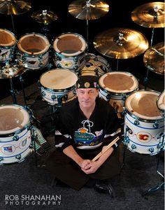 Neil Peart | Photo by Rob Shanahan Photography | @shanahanphoto #rocknroll #drummer #musician #Rush #rockband #professional #photography #robshanahan #neilpeart