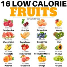 Here are a combination of low calorie fruits that are suitable for weight loss. calorie food Low calorie fruits for weight loss Healthy Detox, Healthy Drinks, Healthy Snacks, Healthy Eating, Healthy Recipes, Healthy Tips, Healthy Protein, High Protein, Low Calorie Fruits