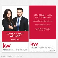 Keller williams business cards weichert marketing products realtor keller williams business cards kw business cards realtor business cards realty business cards colourmoves Images