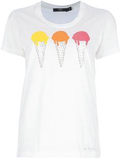 Markus Lupfer Ice Cream Print T-Shirt