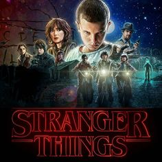 I LOVED the TV show Stranger Things!  I highly recommend it!  Season one is streaming now on Netflix.  Go watch and enjoy! :D