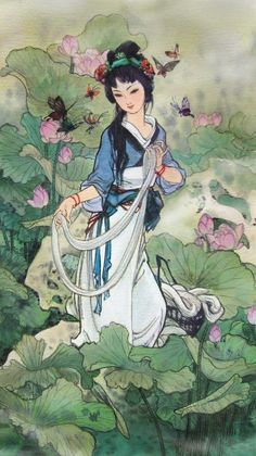 """JP: The Story of Xi Shi: """"Xi Shi was the Fairest Beauty of Ancient China with looks powerful enough to bring down the kingdom. She lived in Zhuji, the capital of the ancient state Yue. Xi Shi was seen as a woman-hero of ancient China, and not a villain that caused the downfall of a Kingdom."""""""