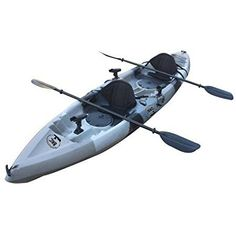 Amazon.com : Brooklyn Kayak Company UH-TK181 Sit On Top Tandem Fishing Kayak Paddles and Seats Included, Blue : Sports & Outdoors