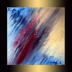 32 x 32Abstract acrylic paintingMedium от karpikiotiArtGallery