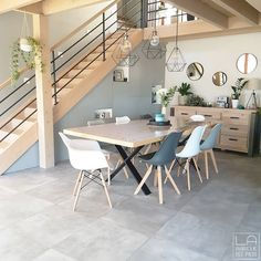 Dining Room Design, Dining Area, Dining Table, Home Trends, New Home Designs, Home Interior Design, Living Room Decor, Sweet Home, House Design