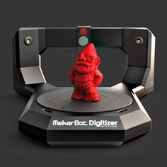 MakerBot Digitizer Desktop 3D Scanner - The MakerBot Digitizer Desktop 3D Scanner lets you turn objects into 3D models! Create STL files from things you already own!
