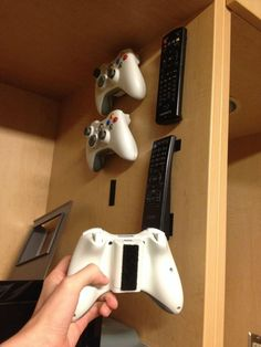 DIY Video Game Storage Solution Ideas for Consoles, Controllers & Games