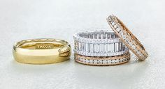 """Whitney Port on Her (Three!)  Tacori Wedding Bands: """"I Look Down Every Three Minutes!"""" from InStyle.com"""