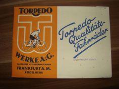 Biete: Fahrradkatalog von Torpedo 40iger Jahre   eBay