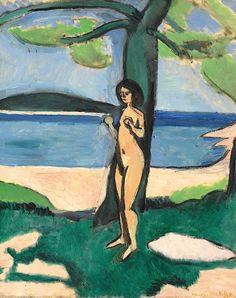 Henri Matisse (1869-1954) - Nu au bord de la mer (1909)
