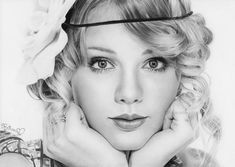 Taylor swift - Pencil Portraits Drawings by Rajacenna  <3 <3