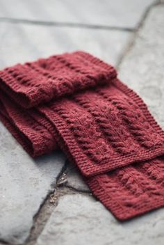pavement scarf by brooklyn tweed $5.00 for the pattern