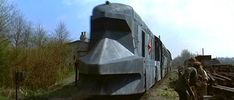 the snowpiercer train Travel Ads, Train Travel, The Snowpiercer, James Bond Cars, Rail Transport, British Rail, Electric Locomotive, Ways To Travel, Panzer