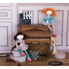 #Pop Adèle Les Coquettes - Moulin Roty #doll #girlsmusthave #playtime #toys #moulinroty #littlethingz2