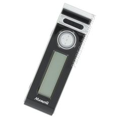 Record hundreds of hours of audio on the MR80 voice recorder featuring voice activation and built-in speaker. Includes 1 year warranty and same-day shipping.