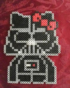 Darth Vader Hello Kitty perler beads by _vampire_chick