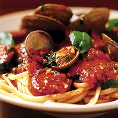 Recipe: Linguine with Manila Clams and Spicy Sausage and Variations (with photo) - Recipelink.com