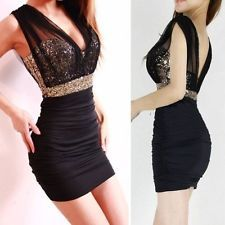 New Sexy Women Summer-Casual Sleeveless Party Evening Cocktail Short Mini Dress