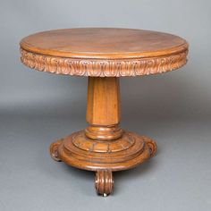 Oak Center Table | From a unique collection of antique and modern center tables at http://www.1stdibs.com/furniture/tables/center-tables/