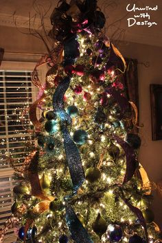 jewel tone christmas tree unwind with design christmas time is here christmas in
