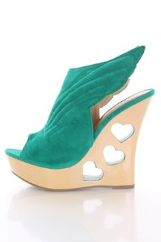 Seagreen Faux Suede Winged Heart Cut Out Wedges @ Amiclubwear Wedges Shoes Store:Wedge Shoes,Wedge Boots,Wedge Heels,Wedge Sandals,Dress Shoes,Summer Shoes,Spring Shoes,Prom Shoes,Women's Wedge Shoes,Wedge Platforms Shoes,floral wedges,Fashion Wedge Shoes