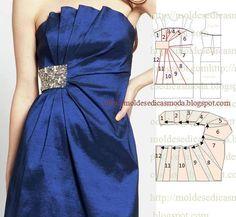 TRANSFORMAÇÃO DE VESTIDO_56 Pleated gown
