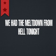 """""""We had the #meltdown from Hell tonight""""   We had the worst #meltdown in recent history tonight.  #Autism #Parenting     http://www.lostandtired.com/2014/03/11/we-had-the-meltdown-from-hell-tonight/  #Autism #Family #SPD #SpecialNeedsParenting"""