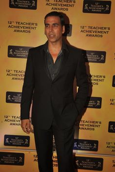 Akshay Kumar  at Teachers Awards 2013.