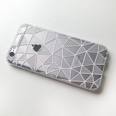 Geometric iPhone 7 Case Clear iPhone 6 case by MargaritaCase #iphone7case,