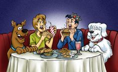 Forget Archie or Reggie or that blond guy from Scooby Doo. I always liked Shaggy and Jughead myself!