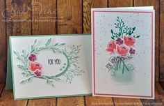 Miss Pinks Craft Spot featuring Stampin' Up! products by Sue Vine, Adelaide South Australia Pink Crafts, Paper Crafts, Mason Jar Cards, Love Jar, Theme Nature, Stampin Up Catalog, Love Stamps, Stamping Up Cards, Tampons