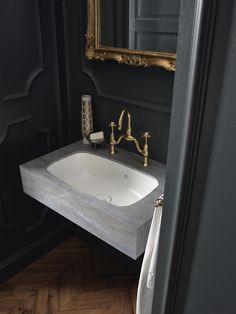 Wundervoll Design Handwaschbecken Badezimmer Retro Messing Optik Schick #badezimmer  #bathroom #ideas | Badezimmer Gestaltungsideen | Pinterest | Badezimmer