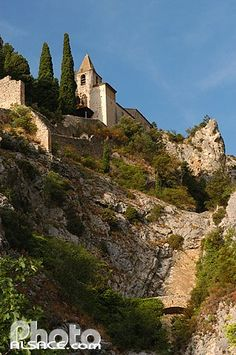 Moustiers St. Marie, France