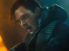 Benedict Cumberbatch, Star Trek Into Darkness  http://britsunited.blogspot.com/2012/12/star-trek-sequel-trailer-why-zoe.html