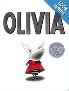 Amazon.com: Olivia (9780689874727): Ian Falconer: Books