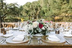 Long beautiful romantic rustic elegant centerpiece on Farm tables. Luxury Wedding, Destination Wedding, Flowers Wine, Elegant Centerpieces, Farm Tables, Rustic Elegance, California Wedding, Wine Country, Event Decor