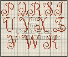 Oi meninas!!!!   Hoje posto pra vcs estes lindos monogramas feitos pela Iza Carla e pela Renata Alves, Zaré Ponto X e pela Gih Almeida.     ...