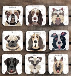 Are you interested in our Dog Coasters and Placemats? With our gift for dog lover you need look no further.
