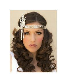 The Great Gatsby Headpiece Downtown Abbey by SpecialTouchBridal