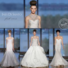 Ines Di Santo, Fall 2014 collection, as seen on http://www.bride.ca/wedding-dresses/?GownTypeID=1&GownLabelID=155