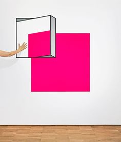 Amazing Optical Illusions by Aakash Nihalani - Inspiration Grid Tape Art, Amazing Optical Illusions, Optical Illusion Art, Illusion Kunst, Instalation Art, Inspiration Artistique, Street Installation, Grid Design, Henna Designs