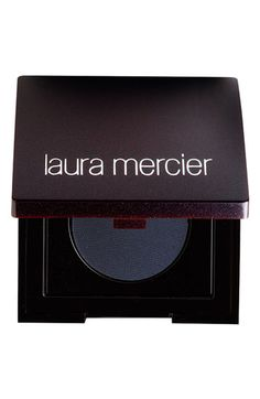 "Laura Mercier ""Tightline"" Cake Eyeliner paired with a flat eyeliner brush = perfection!"