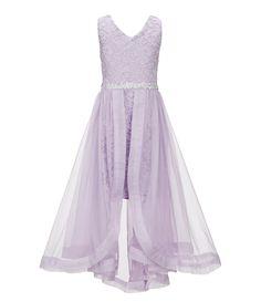 7cd482358e6 Shop for Xtraordinary Big Girls 7-16 Glitter Lace Hi-Low Dress at Dillards
