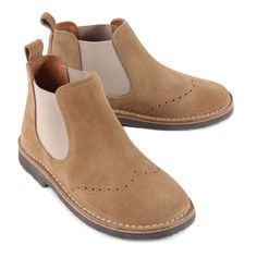 Hackett Suede Chelsea Boots-product