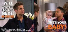 "S3 Ep14 ""Livin' on a Prom"" - SO FUNNY! #BabyDaddy"