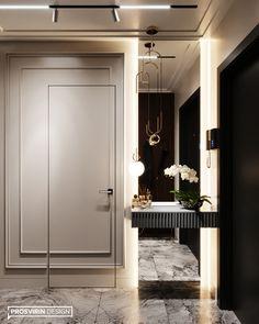 Enhance Your Senses With Luxury Home Decor Corridor Design, Foyer Design, Design Hotel, House Design, Hotel Hallway, Neoclassical Interior, Modern Hallway, Hallway Designs, Luxury Home Decor