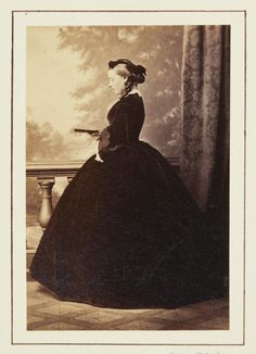 L Haase & Co (active c. 1860-1890s) - Victoria, Princess Frederick William of Prussia, 1860 [in Portraits of Royal Children Vol.5 1860-1861]