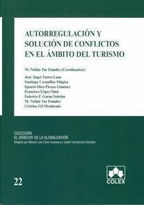 Autorregulación y solución de conflictos en el ámbito del turismo