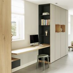 Study Room Design, Home Room Design, Home Office Design, Home Office Decor, Home Decor, Room Decor Bedroom, Living Room Decor, Küchen Design, Interior Design